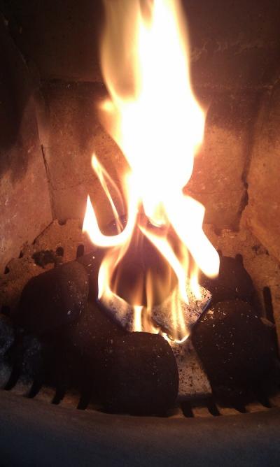 incendio en el hogar